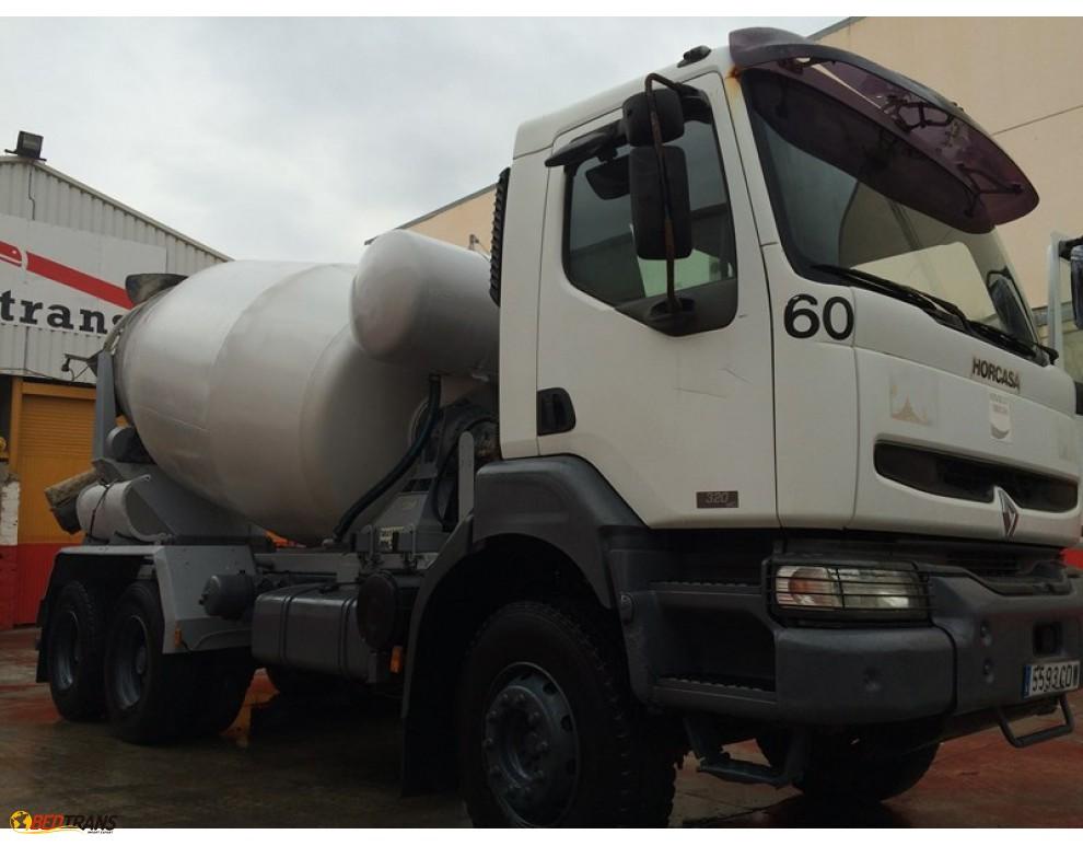 renault kerax 320 malaxeur camion 8m3 frumecar spain trucks sales. Black Bedroom Furniture Sets. Home Design Ideas