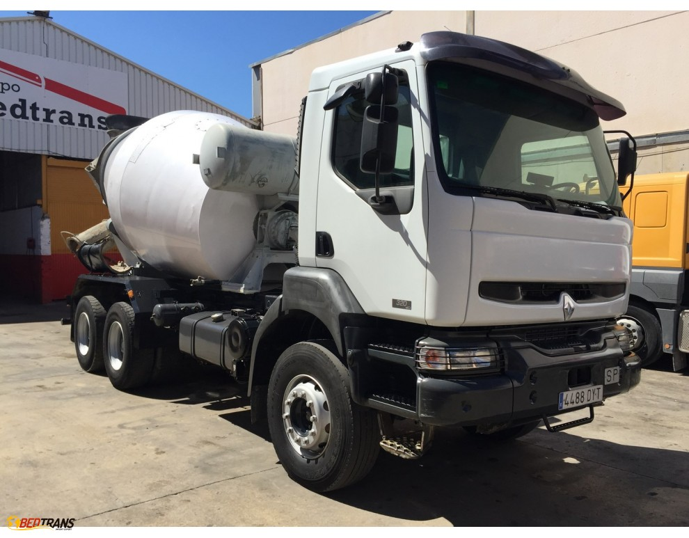 renault kerax camion malaxeur b ton liebherr 320 cdi spain trucks sales. Black Bedroom Furniture Sets. Home Design Ideas