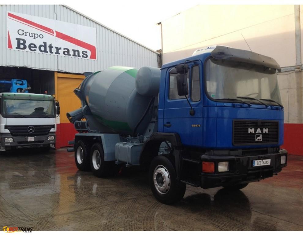 camion b tonni re 8m3 man 25 272 stetter spain trucks sales. Black Bedroom Furniture Sets. Home Design Ideas